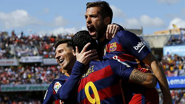 Calcio: il Barça vince la Liga grazie a Suarez, è il ventiquattresimo titolo
