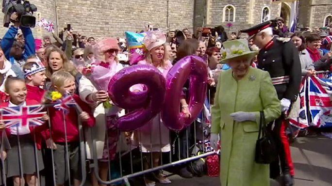 Юбилей королевы: в жизни раз бывает 90 лет, но праздновать можно несколько