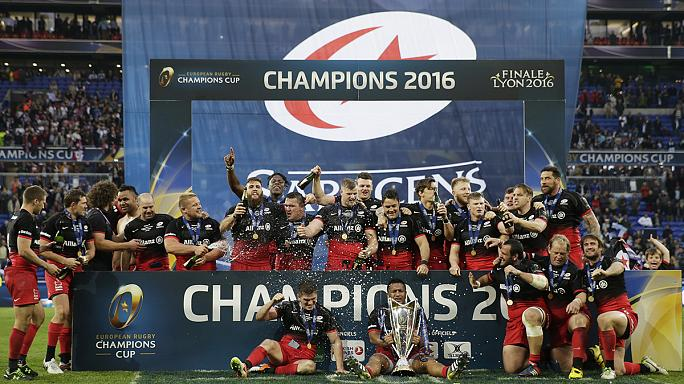 Saracens erklimmen Europas Rugby-Gipfel