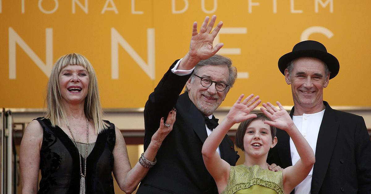 Spielberg's fantasy adventure 'The BFG' premieres at Cannes | euronews, world news