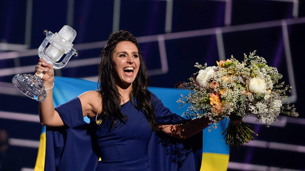 Ukraine's Jamala takes home Eurovision crown