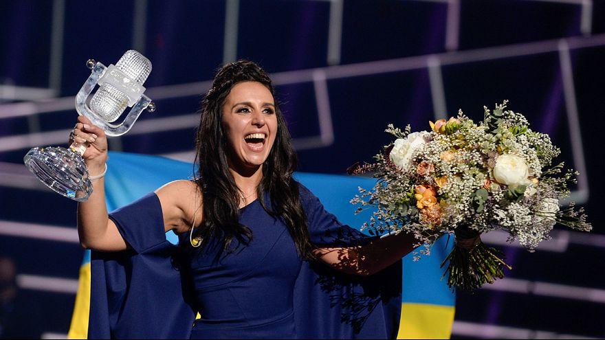 Ukraine's Jamala takes home Eurovision crown
