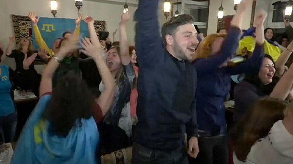 """Eurovision Song Contest: tatari in festa """"per l'Ucraina vittoria simbolica"""""""