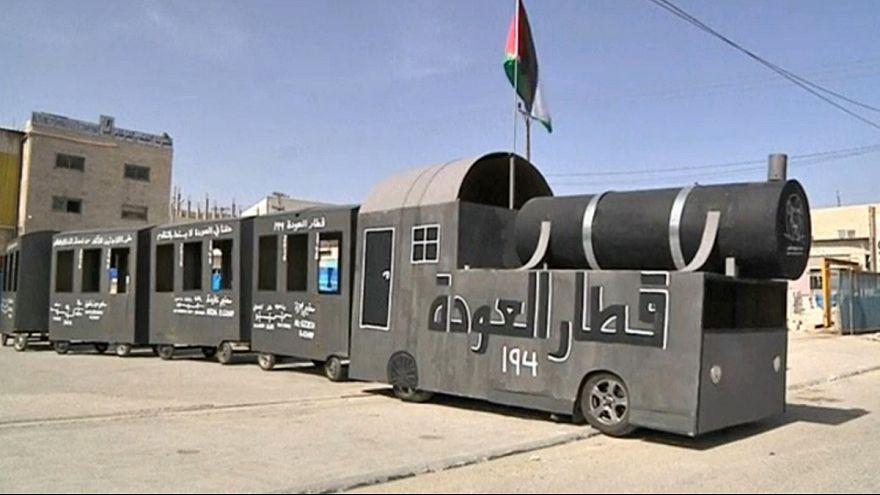 """Los palestinos recuerdan la Nakba, """"el desastre"""" del éxodo"""