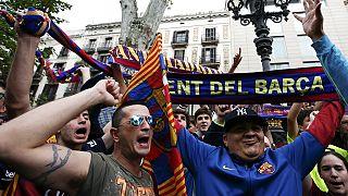 Football : FC Barcelone champion d'Espagne 2016