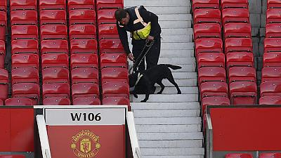 Man United's last league game abandoned after security alert