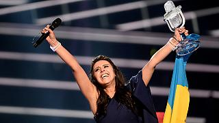 Ukraine wins Eurovision with politically charged song