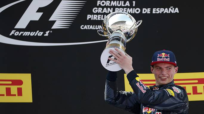 Verstappen wins Spanish GP after both Mercedes crash out