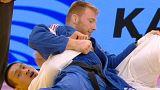 Rio Olimpiyatları'nı hedefleyen judocular Almatı'da tatamiye çıktı