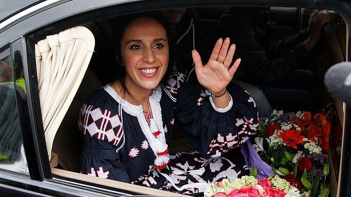 """عودة بطولية إلى الديار لجامالا إثر فوزها بمسابقة """"يوروفيجن"""""""
