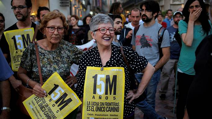 Madrid marks five-year anniversary of los Indignados