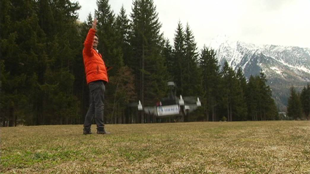 Önjáró drónok támogatják a hegyimentőket Olaszországban