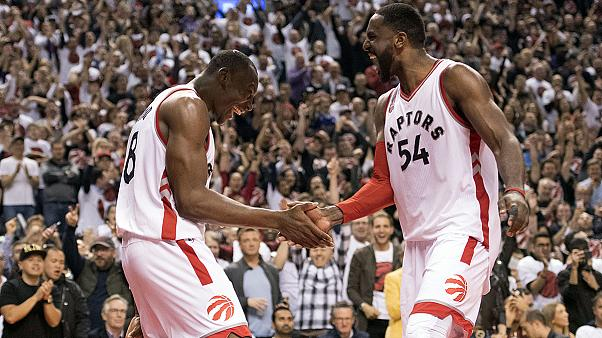 Raptors move on to first conference finals