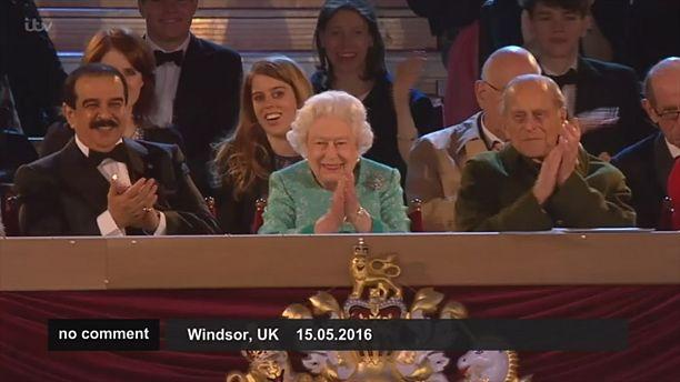 Queen enjoys birthday extravaganza