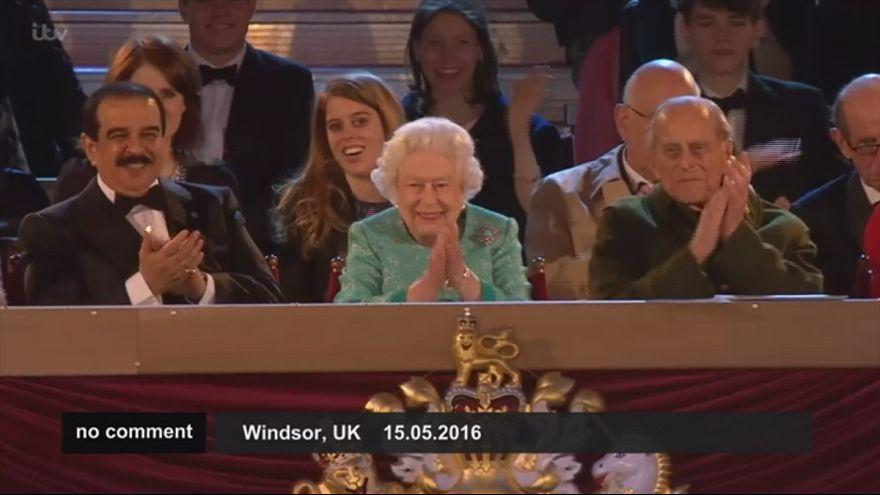 Queen genießt Geburtstagsfeier