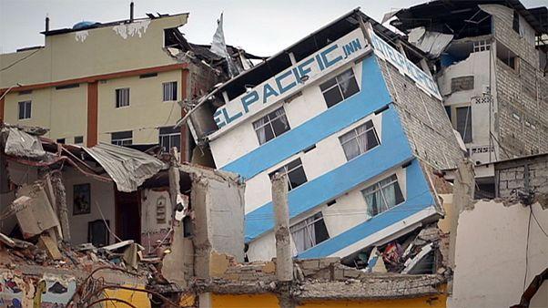 Разрушенному Эквадору помогают из Европы