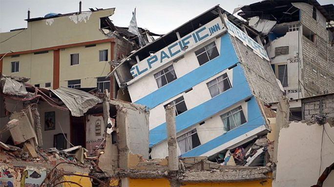 Ecuadori kárfelmérés - európai segítséggel