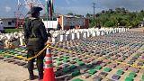 Kolombiya'da rekor miktarda kokain ele geçirildi