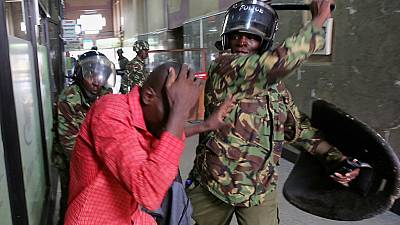 Another protest in Kenya against electoral body, police fire tear gas