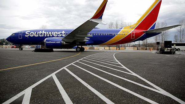 The 737 MAX 8 produced for Southwest Airlines in Renton, Washington on Marc