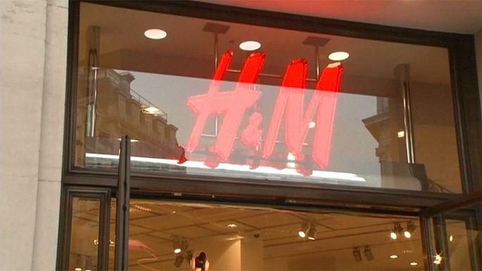 Az időjárás miatt esett vissza a H&M forgalma