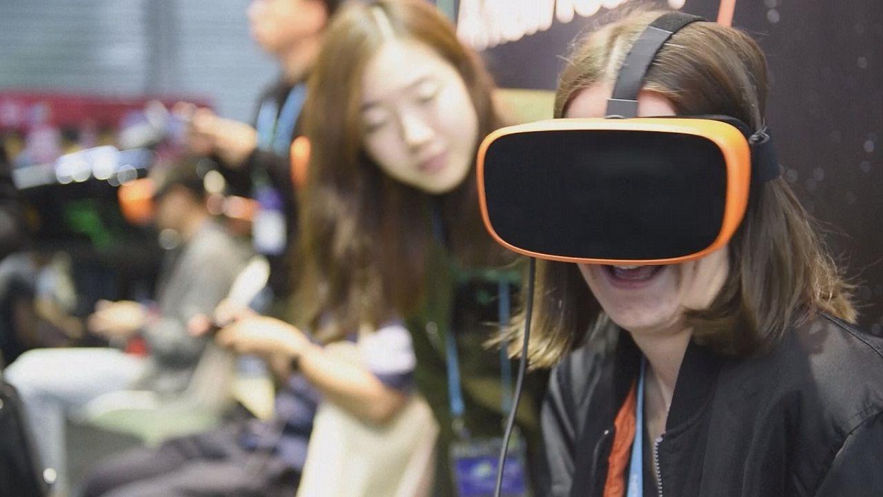 Realidade aumentada na Feira de Eletrónica de Consumo de Xangai