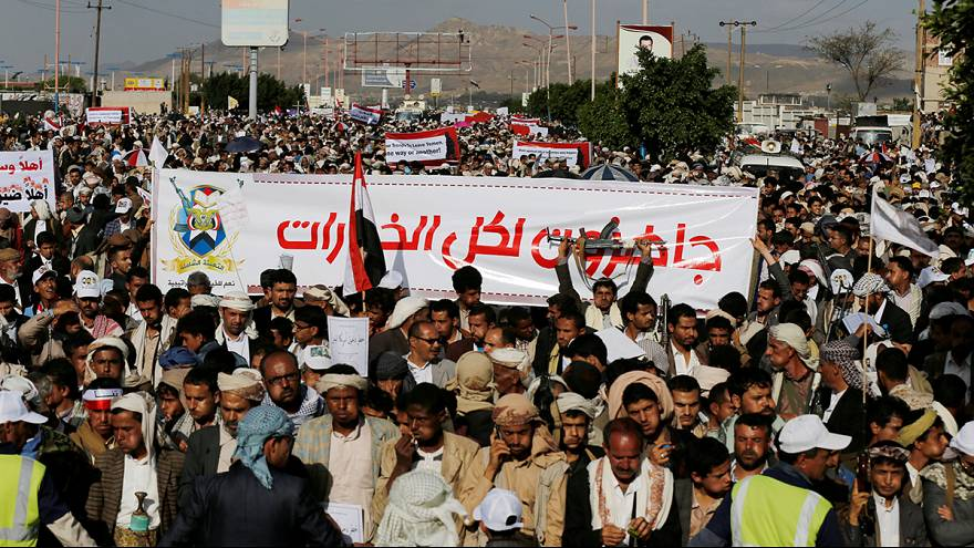 Houthis defending Yemen from US and Israel, leader tells euronews