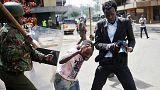 Quénia:Protestos em Nairóbi