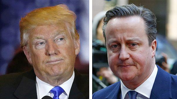"""""""Eu não sou estúpido"""": Donald Trump responde a Cameron"""