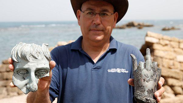 Israël : un trésor archéologique retrouvé dans le port de Césarée