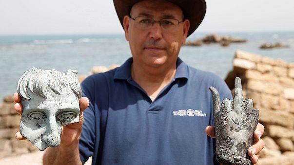 Divers uncover shipwreck treasure trove in Israel