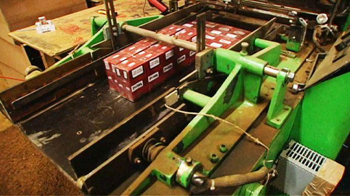 Polonya'da yasadışı sigara fabrikasına baskın