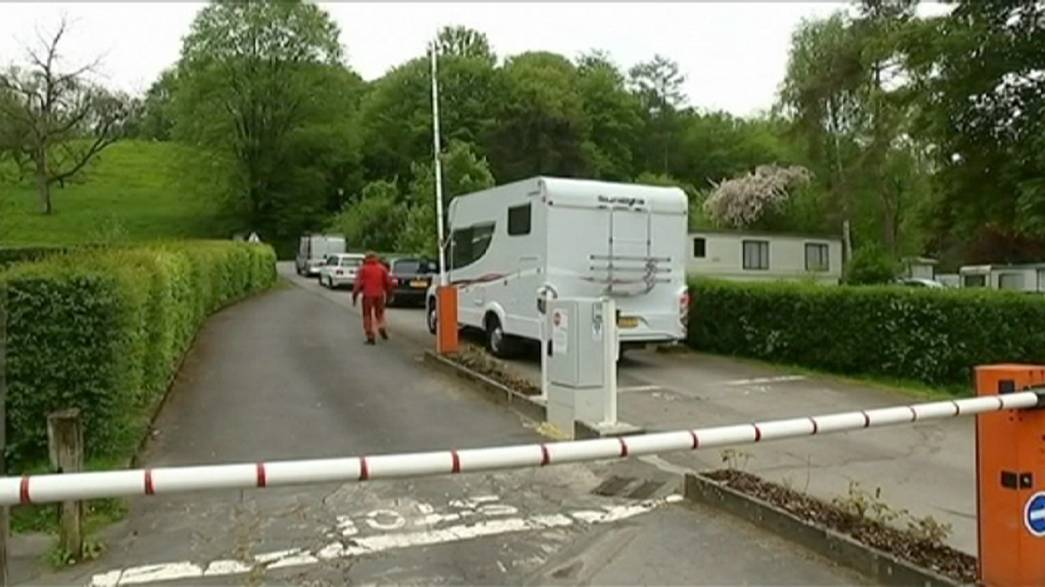 Belgian campsite closed after dozens fall ill