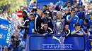 Leicester City's formidable Foxes in Premier League victory parade