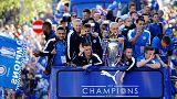 Leicester feiert Meisterschaft in der Premiere League
