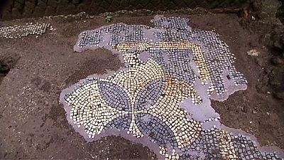 Roms erster archäologischer U-Bahnhof