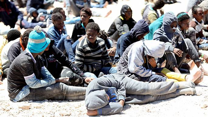 Libya coast guard rescues more than 100 migrants from Africa