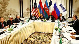 Armenian and Azeri leaders back truce over disputed Nagorno-Karabakh