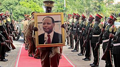 Burundi pays final tribute to former president Bagaza