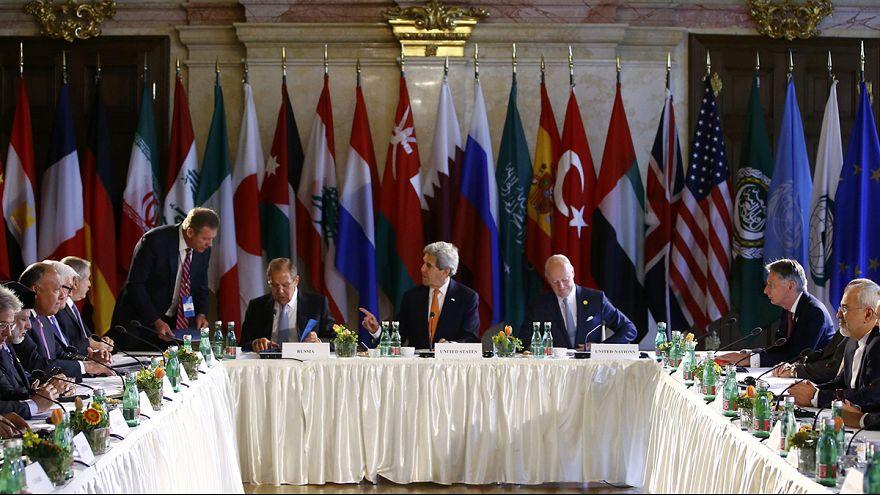 Folytatódnak a szíriai béketárgyalások Bécsben