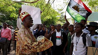 Nigeria's pro-Biafrans vow to continue secession fight