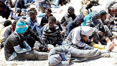 African migrants intercepted by Libya's coast guards