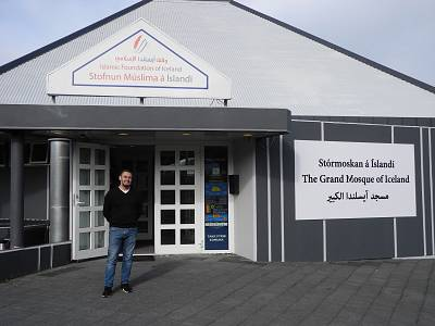 Redouane Adam Anbari is responsible for religious affairs at the Grand Mosque in Reykjavik, Iceland.
