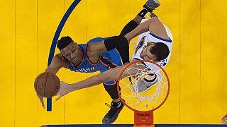 "НБА: ""Голден Стэйт"" отдал победу ""Оклахоме"""