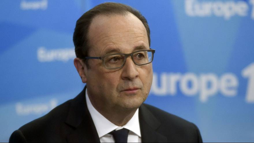 Francois Hollande scores lowest poll for a French president