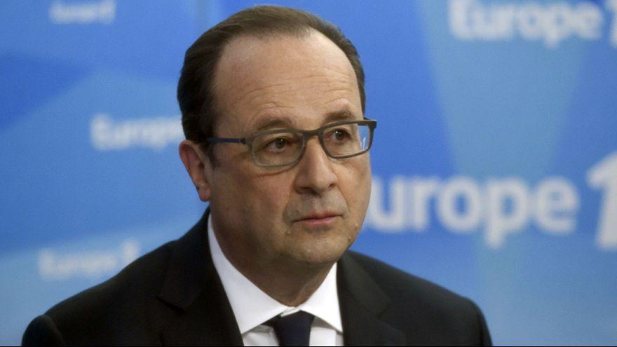 Francia: Hollande, el presidente más impopular de la Quinta República