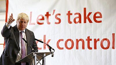 """Boris Johnson accused of """"political amnesia"""""""