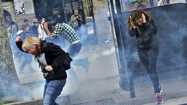 """الرئيس الفرنسي :"""" لن أتراجع عن اصلاح قانون العمل"""""""