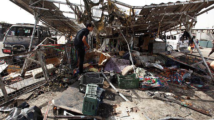 بغداد ضحية سلسلة هجمات دامية
