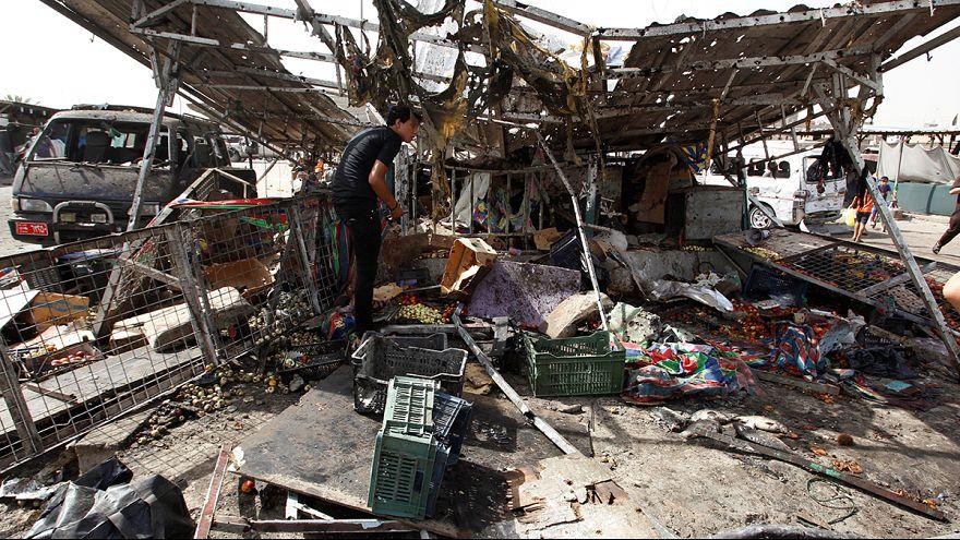 Bağdat'ta 4 ayrı yerde bombalı saldırı